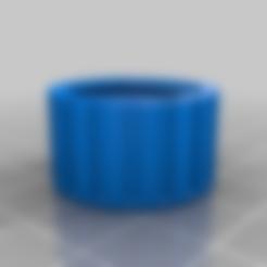 Impresiones 3D gratis Tapa de ventilación con rosca para la lata de gas, skiidlive