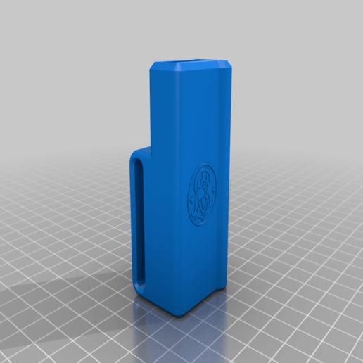 SW_380_Clip_Holster.png Télécharger fichier STL gratuit Smith & Wesson .380 EZ Clip Holster • Plan à imprimer en 3D, skiidlive