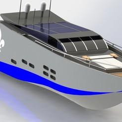 Descargar modelos 3D Jacht, dinokadicofficial