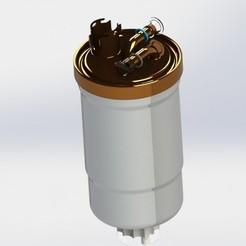 5.JPG Download STL file Oil Fuel filter for Audi, Volkswagen, BMW, Mercedes • Object to 3D print, dinokadicofficial