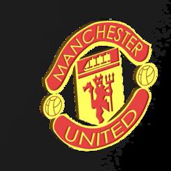 Télécharger STL Le logo de Manchester United, dinokadicofficial