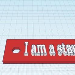 Download STL file Key ring, Simonpaul