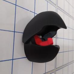 Download 3D printer designs PARROT'S BEAK COAT RACK, naahuel