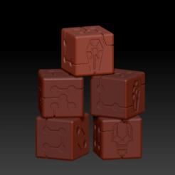 Preview.png Download free STL file Necrons Dice 2020 • 3D printer model, virusesofdeath