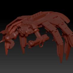 Preview.png Download free STL file Canoptek Spyder Retro • 3D print model, virusesofdeath