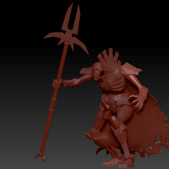 Preview1.png Download free STL file DoW Necron Lord • Model to 3D print, virusesofdeath