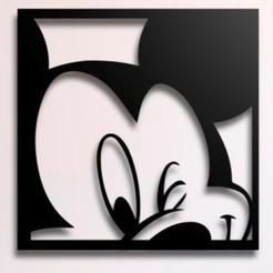 IMG-20201012-WA0009.jpg Télécharger fichier STL Affiche de Mickey Mouse • Plan imprimable en 3D, 3drovettas