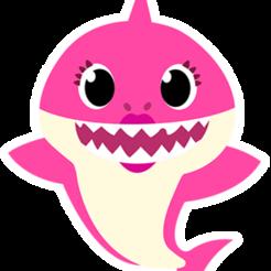babyrosado.png Download STL file Mommy Shark • Model to 3D print, 3drovettas