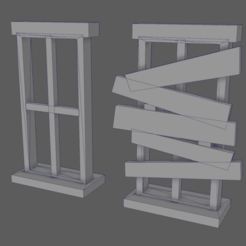 barricade_window.png Download free STL file Barricade Window • 3D printing object, ghostbear65