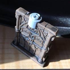 door_lock.jpg Télécharger fichier STL gratuit Jeton de porte verrouillée • Plan pour impression 3D, ghostbear65