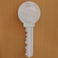 Imprimir en 3D gratis Wifi-Key-Holder, maxsiebenschlaefer13