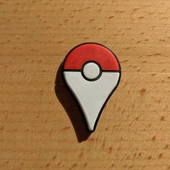 Télécharger modèle 3D gratuit Pokemon Go Badge NFC Tag Version, maxsiebenschlaefer13