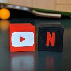 Télécharger fichier 3D gratuit Application YouTube/Netflix, maxsiebenschlaefer13