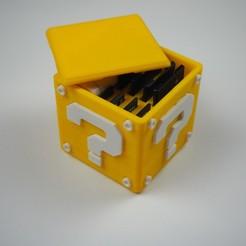P1271871.JPG Télécharger fichier STL gratuit Bloc de questions pour les DD et les micro DD • Design pour imprimante 3D, maxsiebenschlaefer13