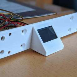 Download free 3D printer designs Raspberry Pi Rack with 0.96 OLED, maxsiebenschlaefer13