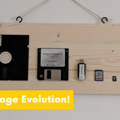 Download free STL file Storage Evolution • 3D printing model, maxsiebenschlaefer13