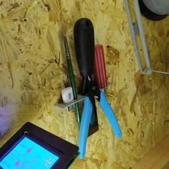 Télécharger fichier impression 3D gratuit Porte-outil finisseur 3, JackHollywood
