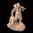 Télécharger fichier STL Ogre Hunter Irkas - Miniature uniquement • Modèle à imprimer en 3D, guardiansdestiny2019