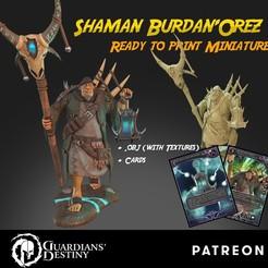 Burdan Orez cubebrush.jpg Télécharger fichier STL Shaman Ogre Burdan'Orez • Plan pour impression 3D, guardiansdestiny2019