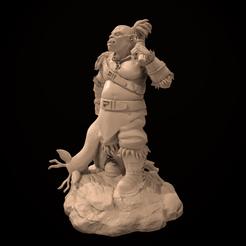 screenshot001 (2).png Télécharger fichier STL Ogre Hunter Irkas - Miniature uniquement • Modèle à imprimer en 3D, guardiansdestiny2019