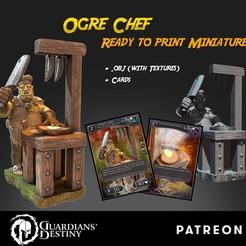 OgreChef cubebrush.jpg Télécharger fichier STL Chef Ogre • Modèle à imprimer en 3D, guardiansdestiny2019