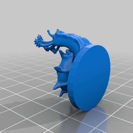 flailsnailstl.png Download free STL file flail snail • 3D printing design, kphillsculpting