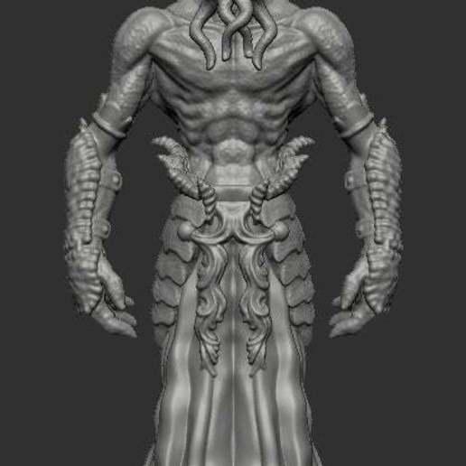 mindflayer.jpg Télécharger fichier STL gratuit Le tueur d'esprit • Plan pour impression 3D, kphillsculpting