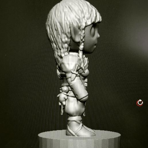 image.png Télécharger fichier OBJ gratuit moine gnome • Objet imprimable en 3D, kphillsculpting