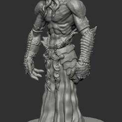 Download free 3D printing designs Mind Flayer, kphillsculpting