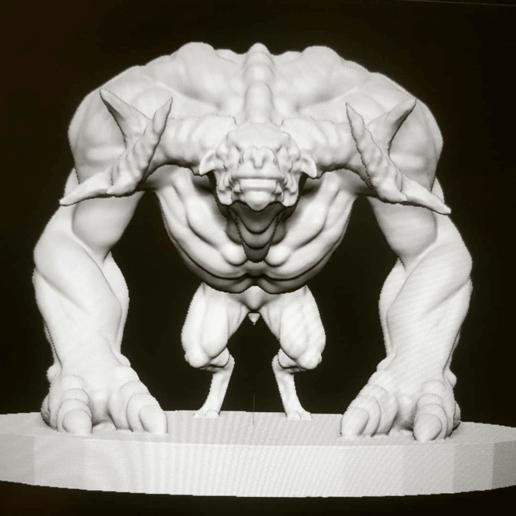 Download free 3D printer designs Minotaur, kphillsculpting