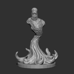 Télécharger fichier STL gratuit Ghoul fantôme (single) • Design pour impression 3D, kphillsculpting