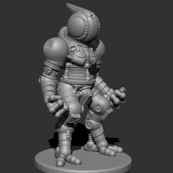 Download free 3D printer model Space Suit 001, kphillsculpting