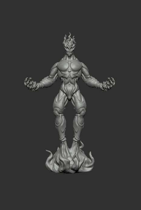 myrmidon-fire-front.jpg Download free STL file Myrmidon of Fire • Template to 3D print, kphillsculpting
