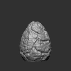 Télécharger fichier STL gratuit Oeuf de phénix (sans base) • Objet pour impression 3D, kphillsculpting