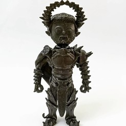 Télécharger objet 3D gratuit Ecclésiaste de Tiefling (kelemvor), kphillsculpting