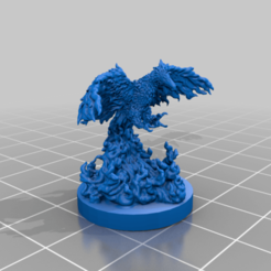 Download free STL files Phoenix, kphillsculpting