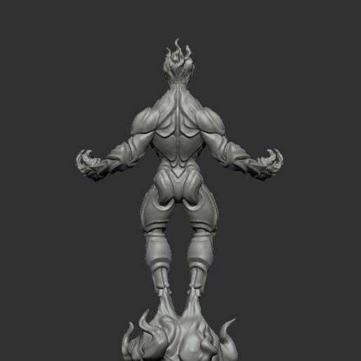 myrmidon-fire-back.jpg Download free STL file Myrmidon of Fire • Template to 3D print, kphillsculpting