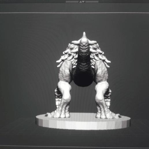image.png Télécharger fichier OBJ gratuit Tarrasque • Plan pour impression 3D, kphillsculpting