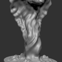 Download free 3D printing files water weird, kphillsculpting