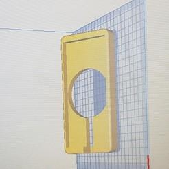 Download free 3D printer designs Induction power supply bracket for Samsung S8, provarrisien
