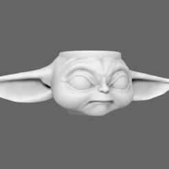 Descargar archivo 3D BabyYoda Taza Vaso Star Wars, jlcasin