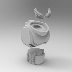 Impresiones 3D gratis Torso en blanco de Primaris, KrackendoorStudios
