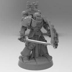 F879B576-6189-4450-B428-942471E32BD5.jpeg Download free STL file Black Templars Guard Blade A • 3D printer model, KrackendoorStudios
