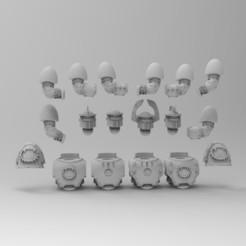 WE1.jpg Download free STL file World Eaters MKIII Upgrades • 3D printer design, KrackendoorStudios