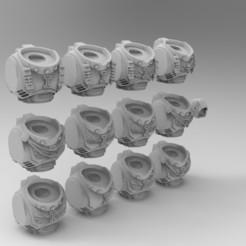 untitled.381.jpg Télécharger fichier STL gratuit Observez la mort de Primaris Torsos • Plan pour imprimante 3D, KrackendoorStudios