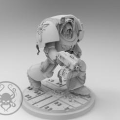 Descargar Modelos 3D para imprimir gratis Deathwing Terminator, KrackendoorStudios