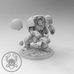 Descargar modelo 3D gratis Terminator A, KrackendoorStudios
