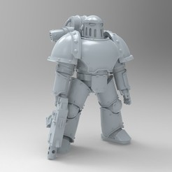 untitled.174.jpg Download free STL file MKIII Poseable • Template to 3D print, KrackendoorStudios