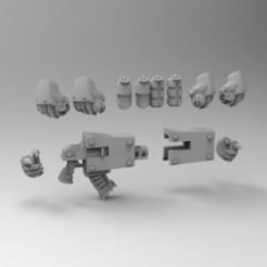 ACC.jpg Download free STL file MKIII Accessories Set1 • Model to 3D print, KrackendoorStudios