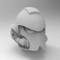 Descargar diseños 3D gratis Casco en blanco de Primaris, KrackendoorStudios
